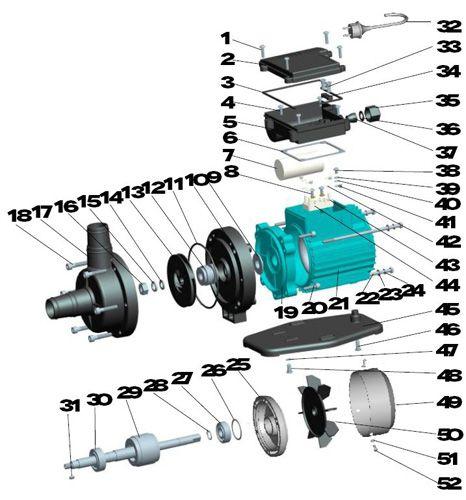 Aquastar 4 pumpe ersatzteile nr 50 l fterrad 14 95 for Poolfolien hersteller