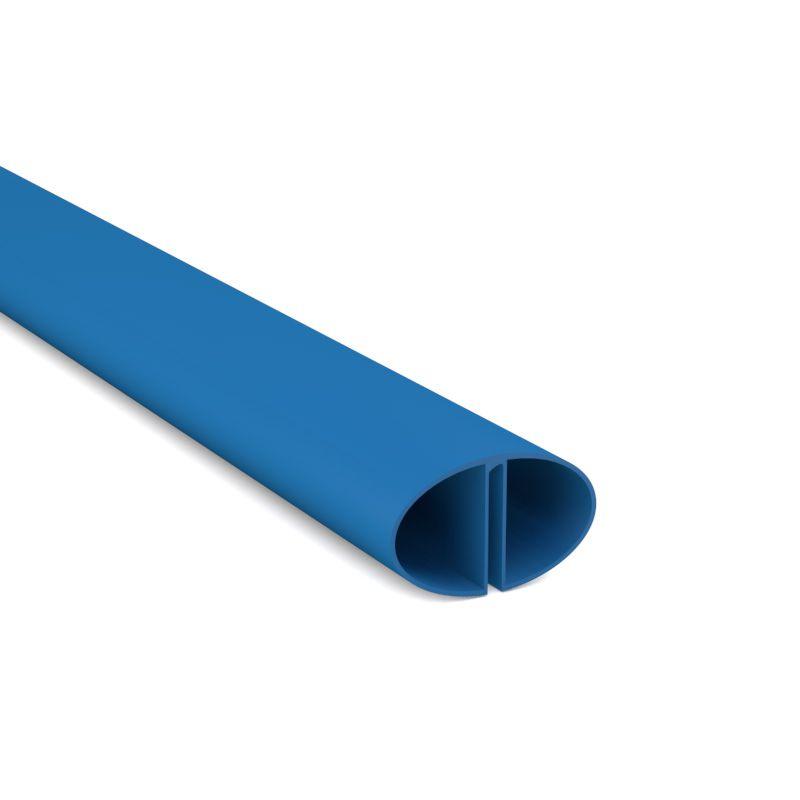 Handlaufpaket basic achtform blau inkl profilverbinder for Poolfolien hersteller