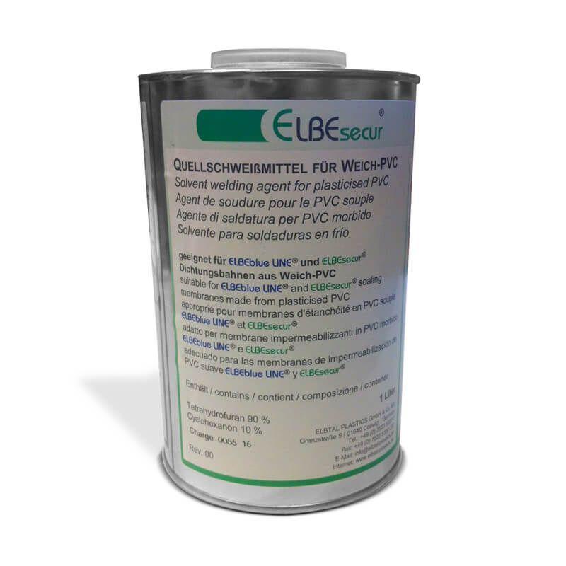 Pvc quellschwei mittel tetrahydrofuran 1 liter von for Hersteller poolfolien