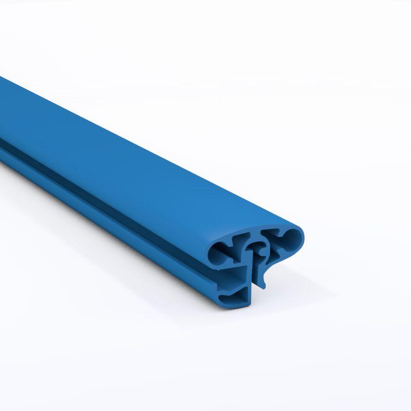 Schwimmbecken kombi handlauf oval blau 135 00 for Hersteller poolfolien