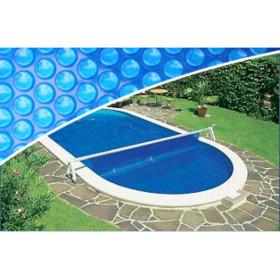 530-690 cm Pool Aufrollvorrichtung Wandmontage