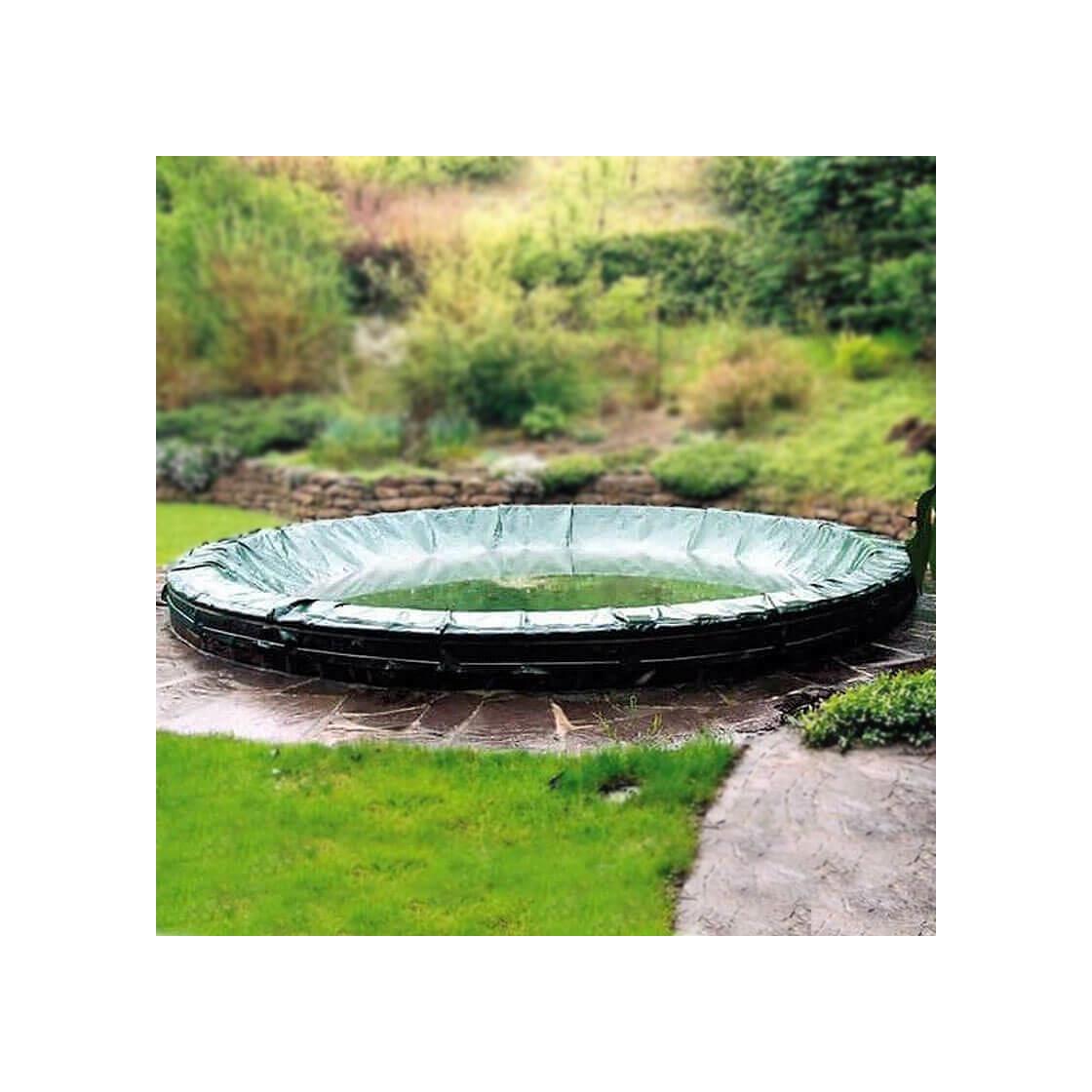 Winterabdeckung pool achtform premium 200 g m 103 95 for Hersteller poolfolien